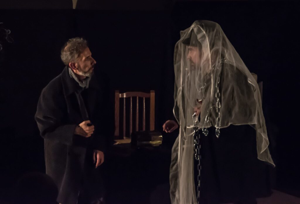 Scrooge y Jacob Marley obra alumnos Viesqueswood