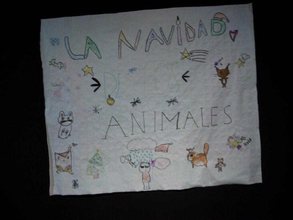 """Cartel """"La navidad de los animales"""""""