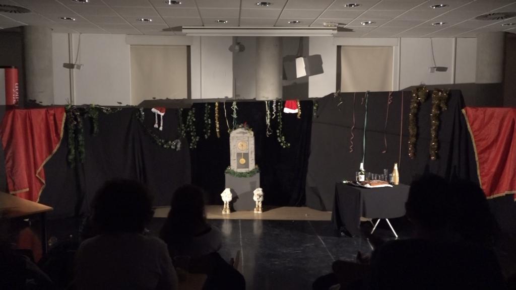 Escenario Escenas de Navidad
