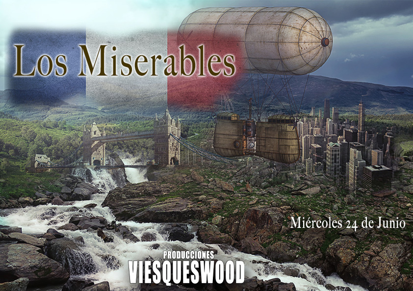 Cartel Los Miserables Steampunk